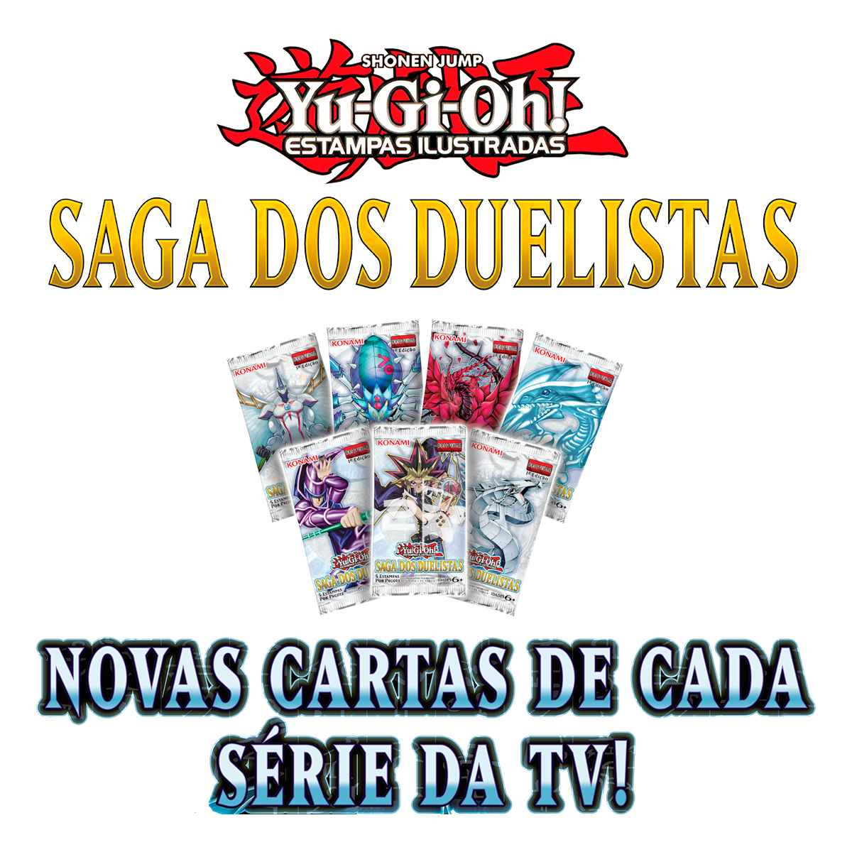 Yugioh Booster Saga dos Duelistas