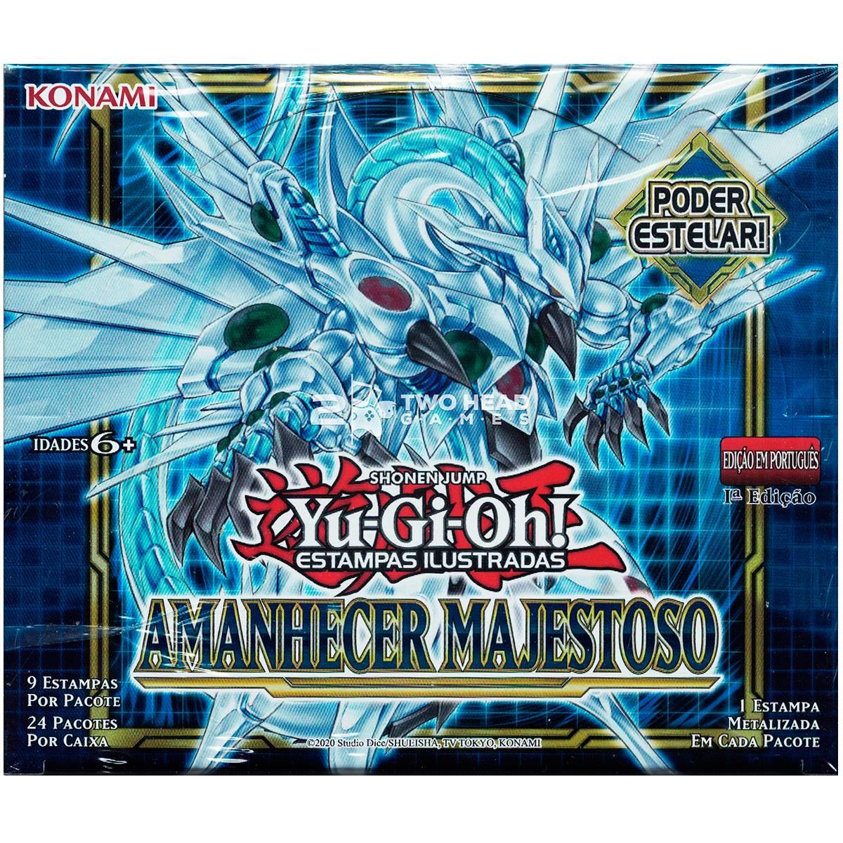 Yugioh Box Booster Amanhecer Majestoso - Dawn Of Majesty