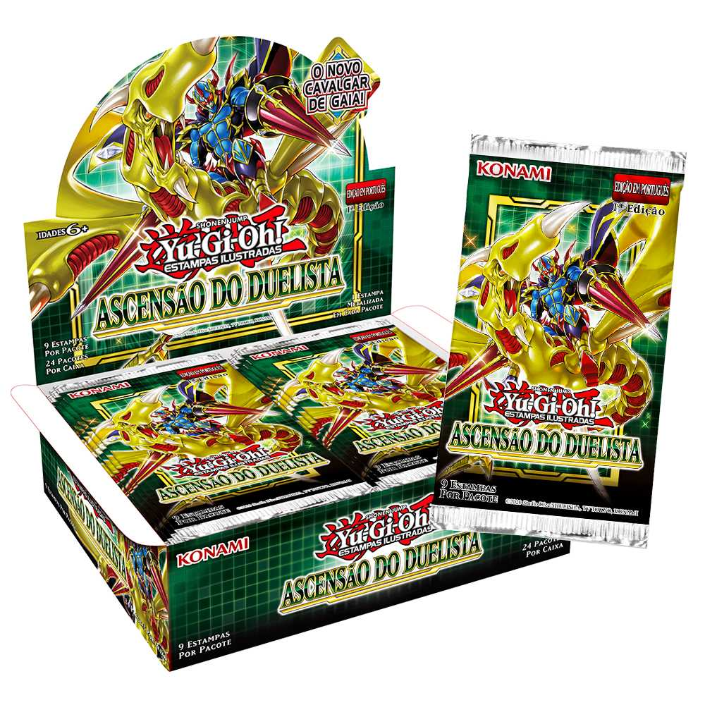 Yugioh Box Booster Ascensão Do Duelista - Rise of the Duelist