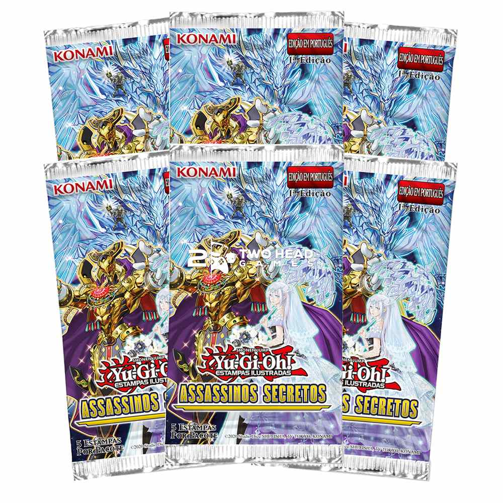 Yugioh Box Booster Assassinos Secretos - Secret Slayers