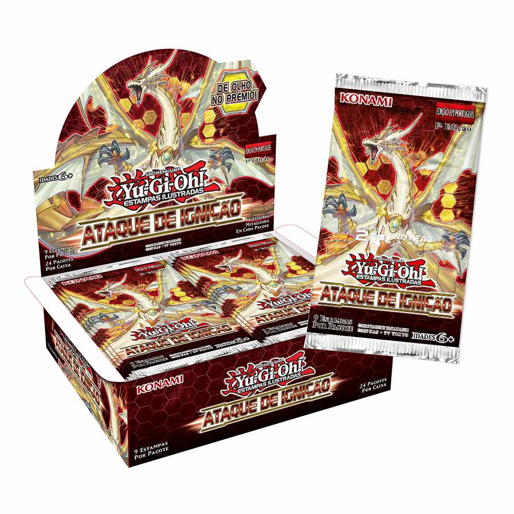Yugioh Box Booster Ataque de Ignição - Ignition Assault
