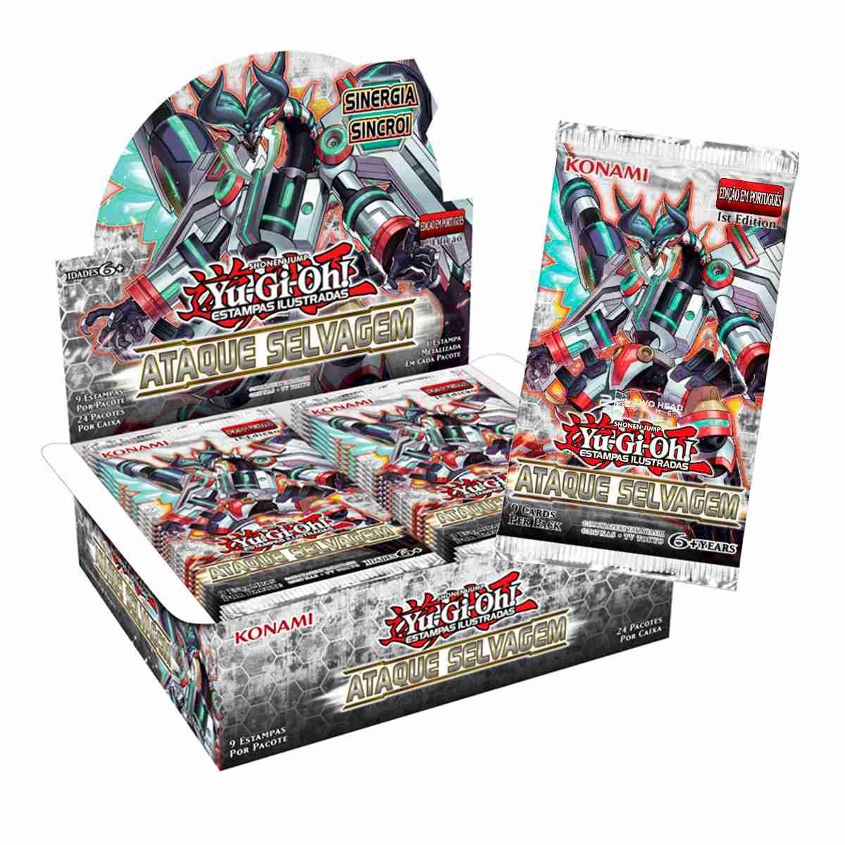 Yugioh Box Booster Ataque Selvagem - Savage Strike