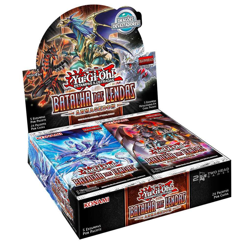 Yugioh Box Booster Batalha das Lendas Armagedom