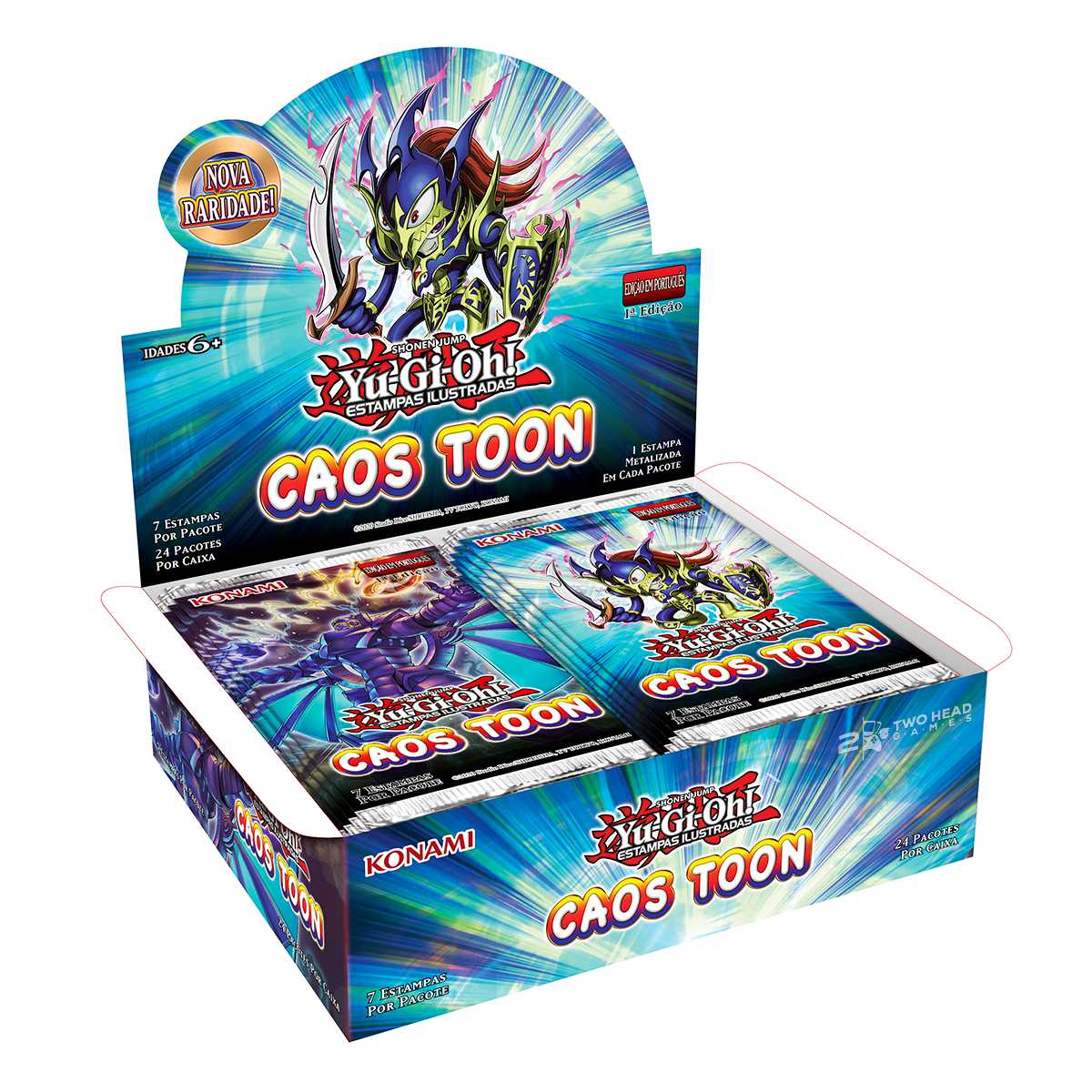 Yugioh Box Booster Caos Toon