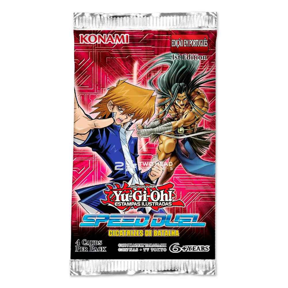 Yugioh Box Booster Cicatrizes de Batalha Speed Duel
