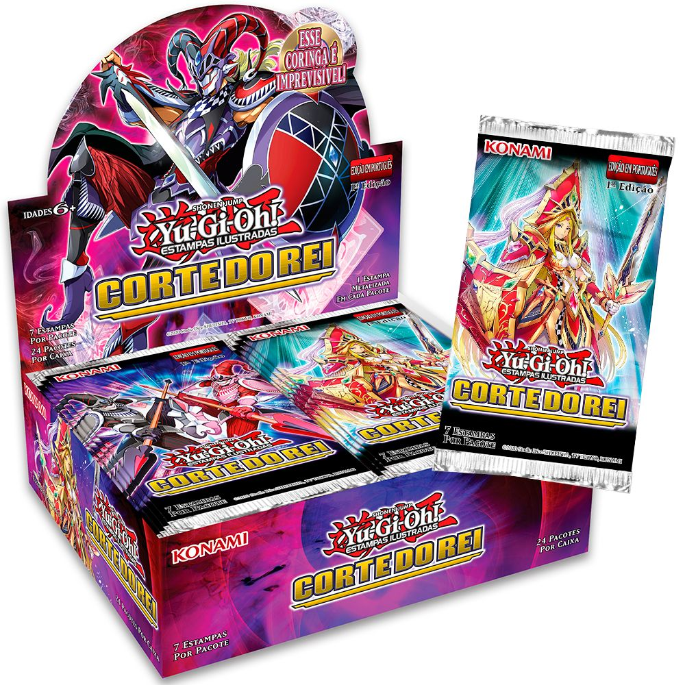 Yugioh Box Booster Corte do Rei - Kings Court