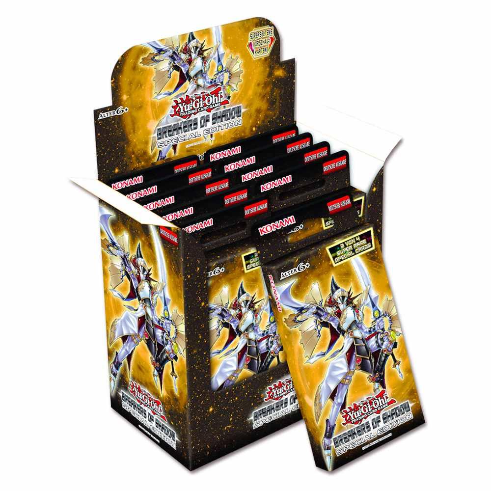Yugioh Box Booster Destruidores das Sombras Edição Especial