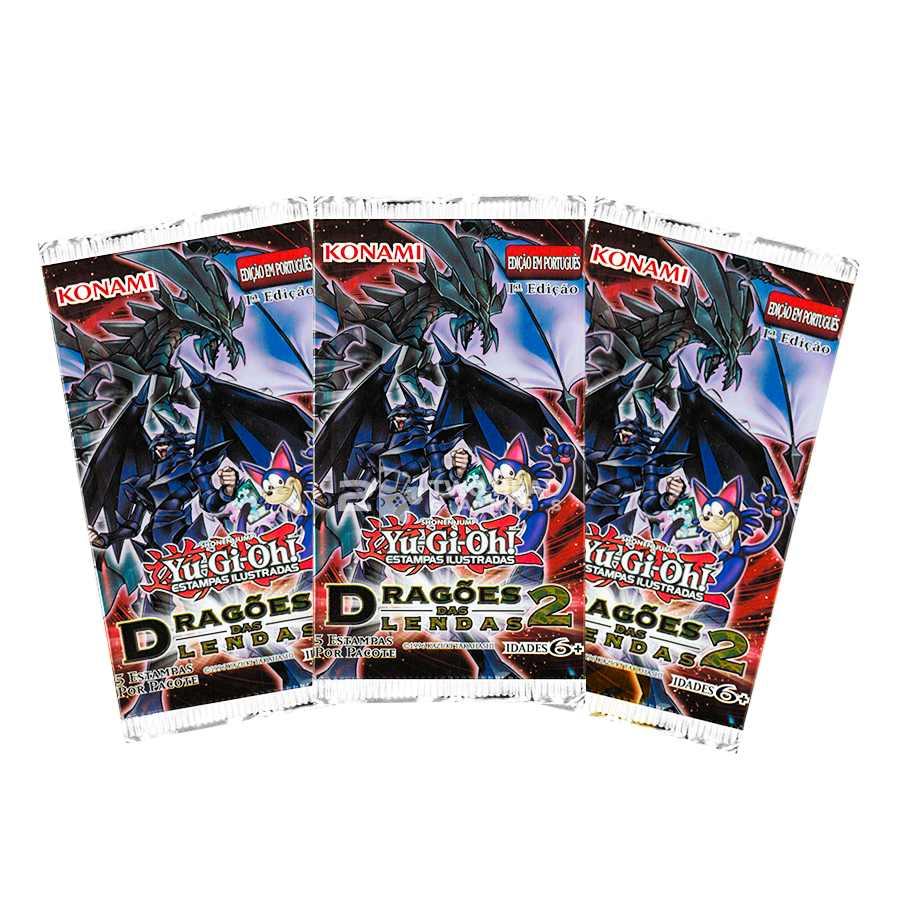 Yugioh Box Booster Dragoes Das Lendas 2