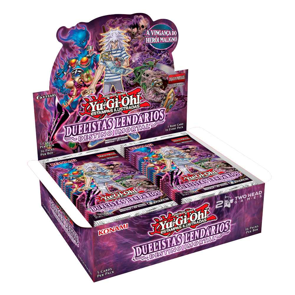 Yugioh Box Booster Duelistas Destino Imortal - Immortal Destiny