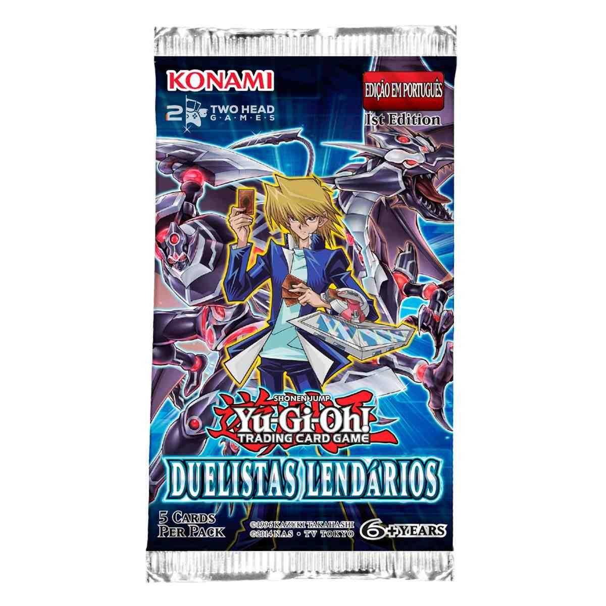 Yugioh Box Booster Duelistas Lendários