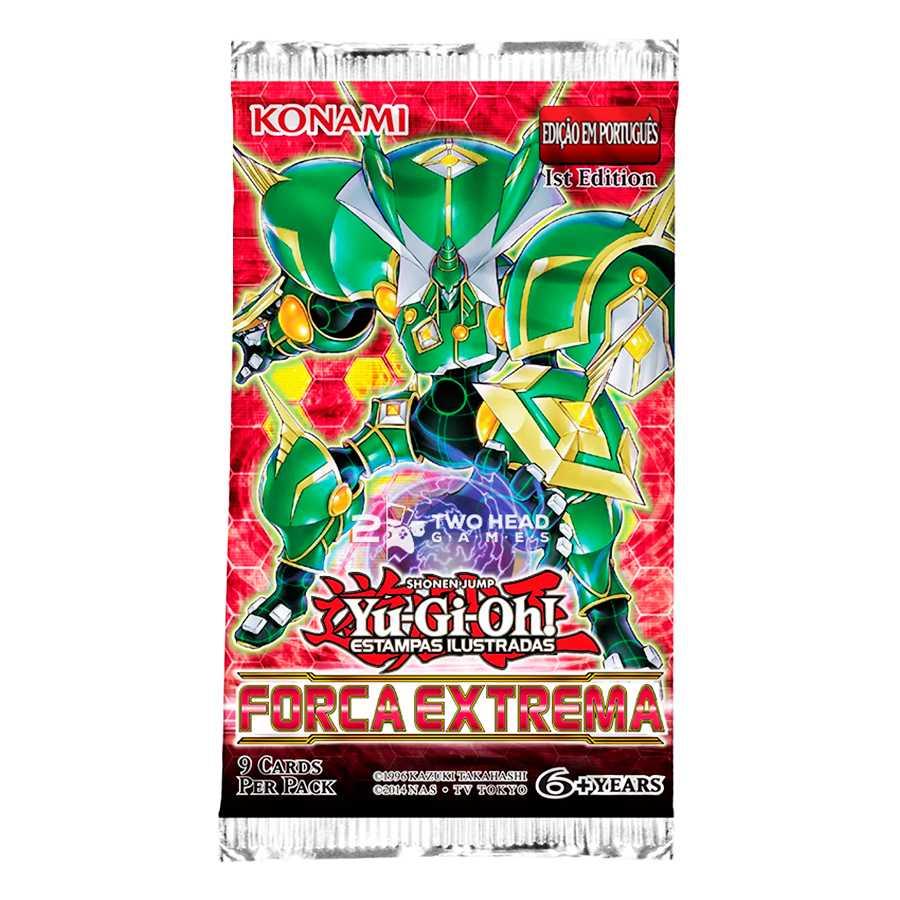 Yugioh Box Booster Força Extrema