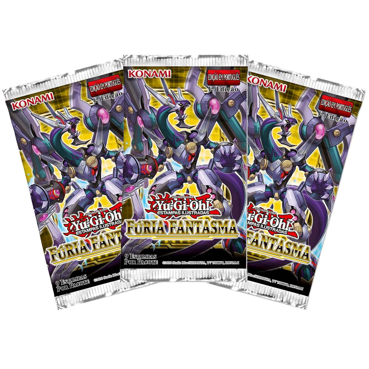 Yugioh Box Booster Fúria Fantasma - Phantom Rage
