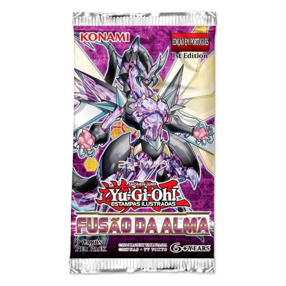 Yugioh Box Booster Fusão da Alma Soul Fusion
