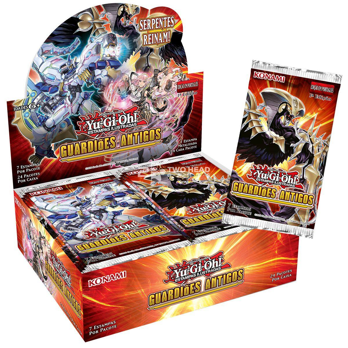 Yugioh Box Booster Guardiões Antigos - Ancient Guardians