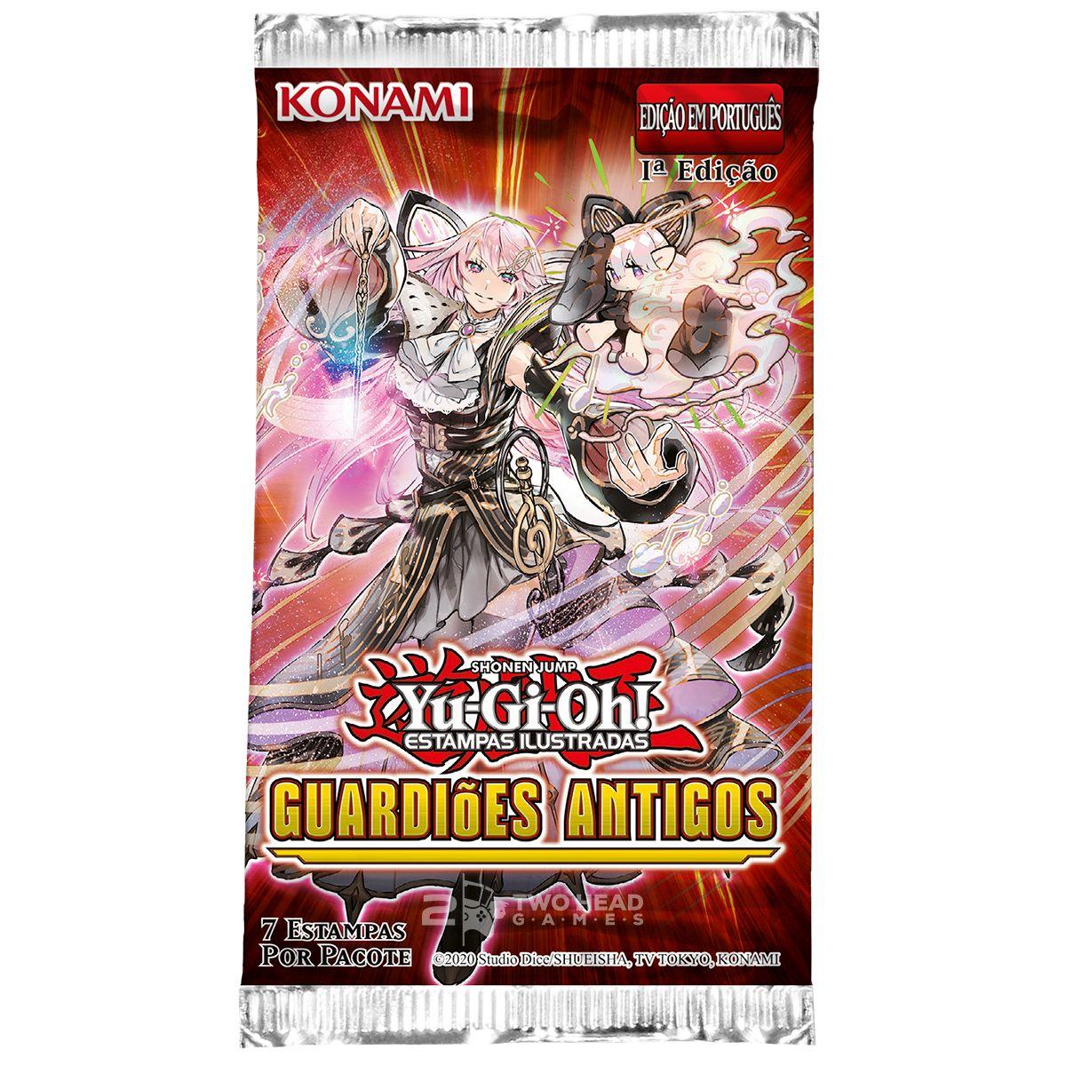 Yugioh Box Booster Guardiões Antigos - Ancient Guardians