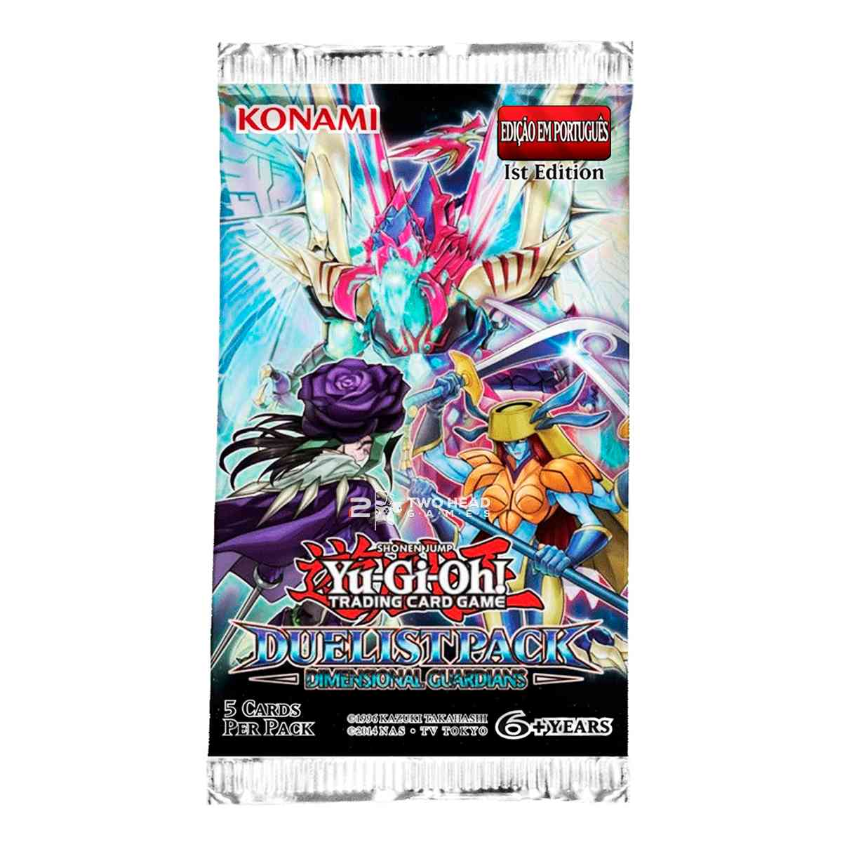 Yugioh Box Booster Guardiões Dimensionais Pacote Duelista