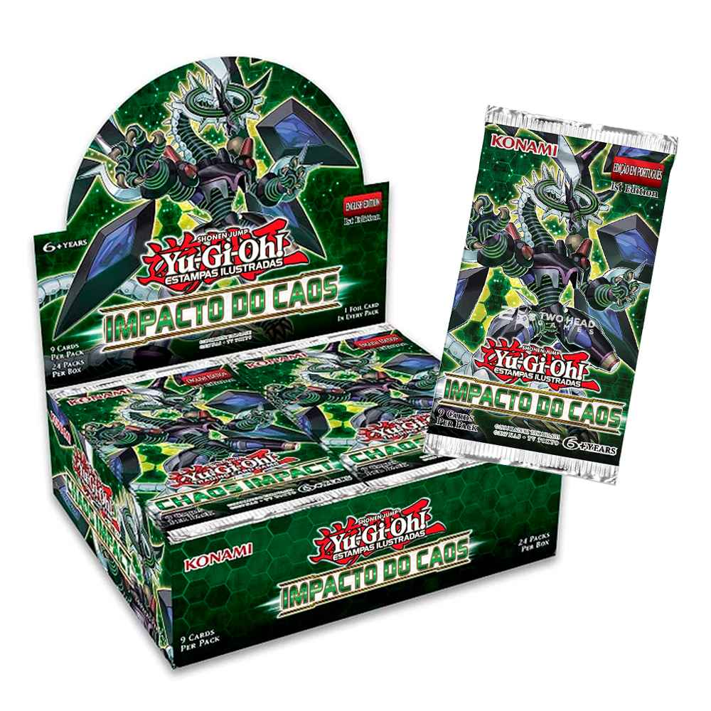 Yugioh Box Booster Impacto do Caos - Chaos Impact