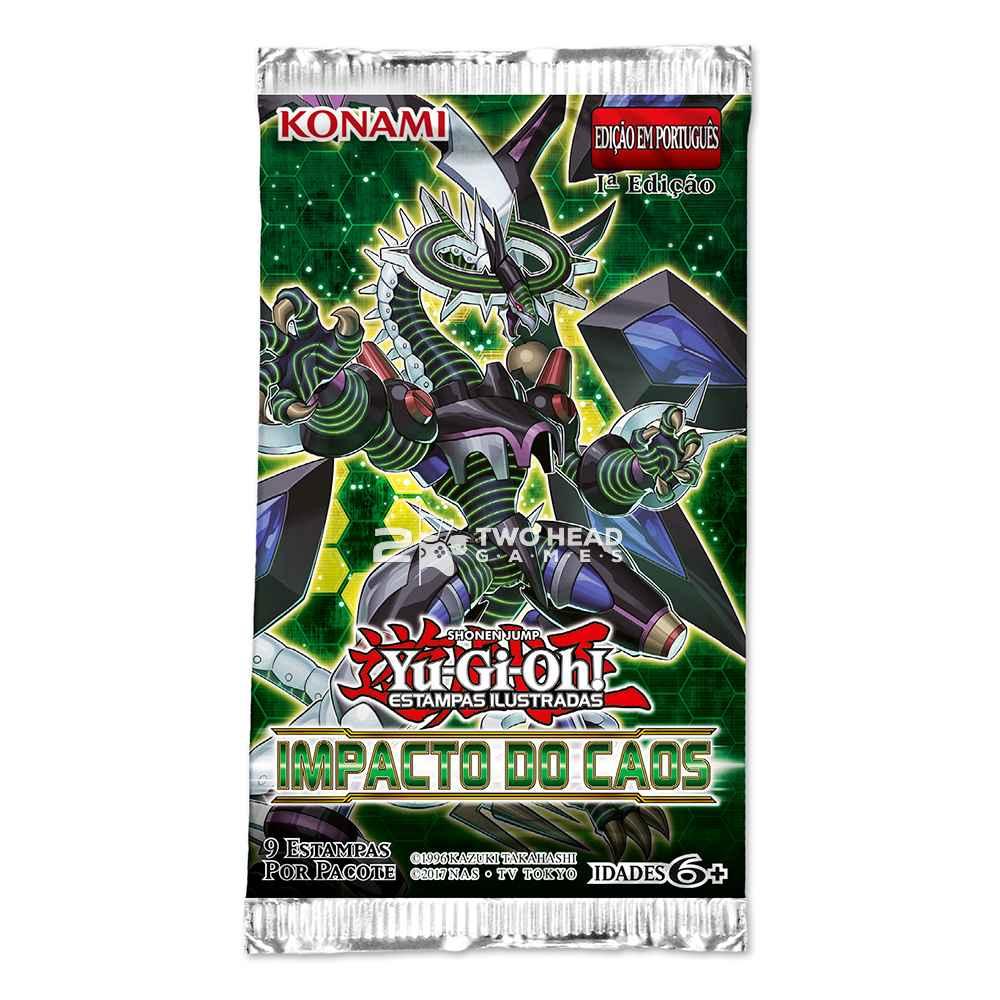 Yugioh Box Booster Impacto do Caos - Chaos Impact