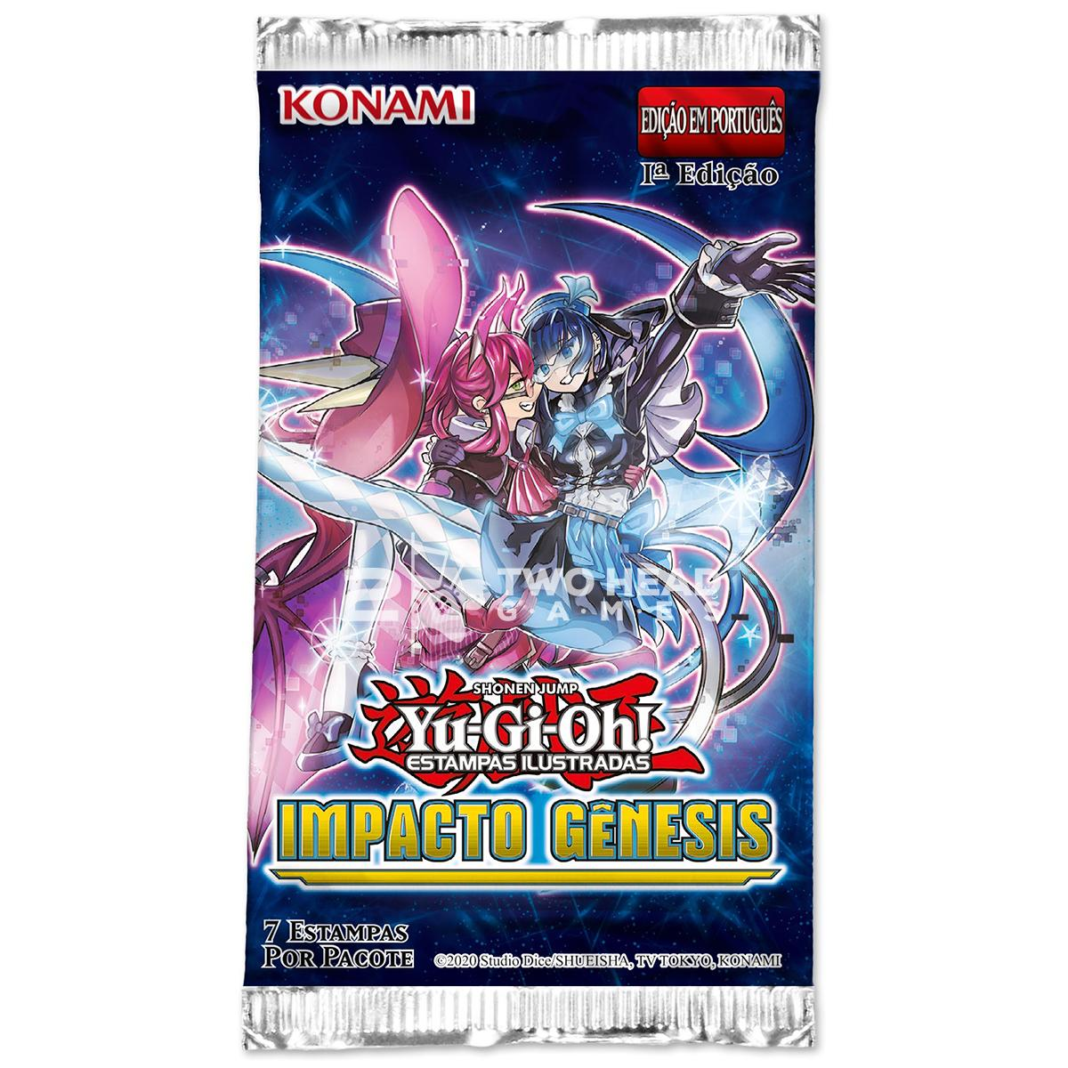 Yugioh Box Booster Impacto Gênesis Impact