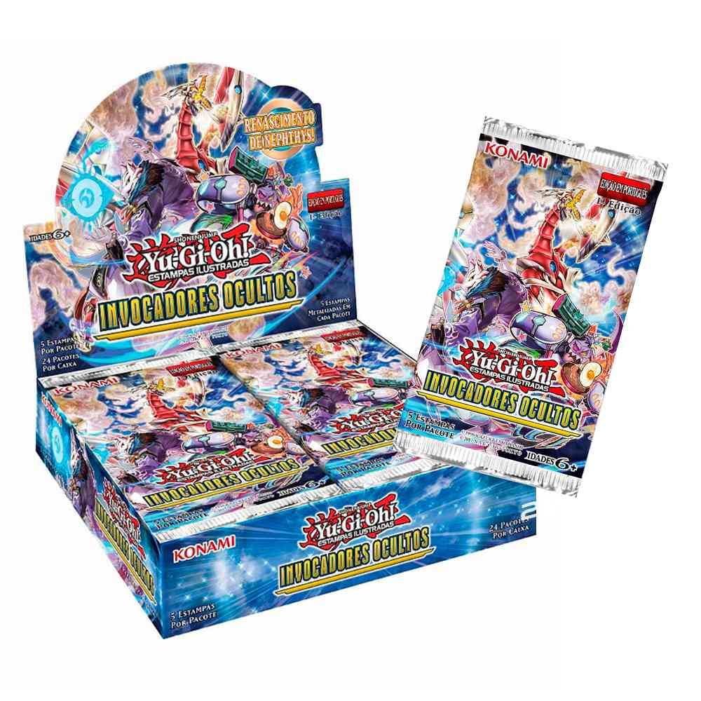 Yugioh Box Booster Invocadores Oculto Hidden Summon