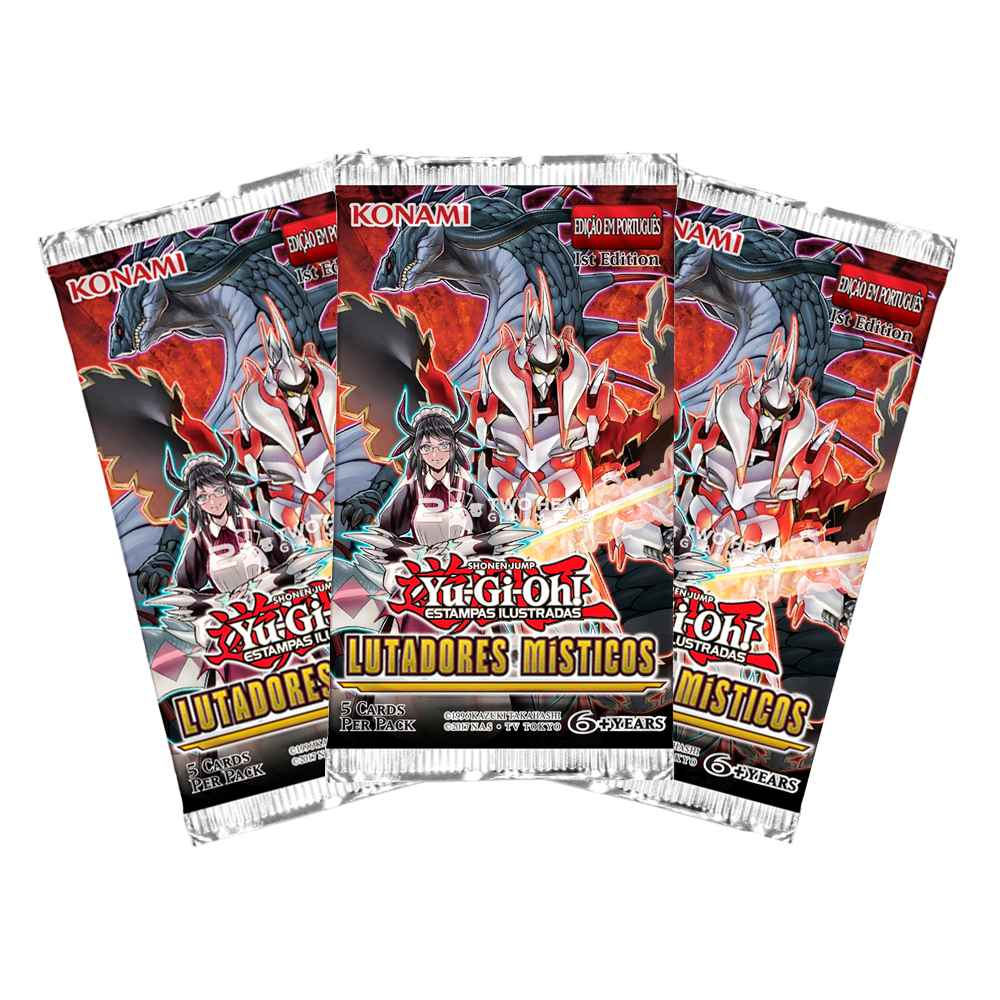 Yugioh Box Booster Lutadores Místicos - Mystic Fighters