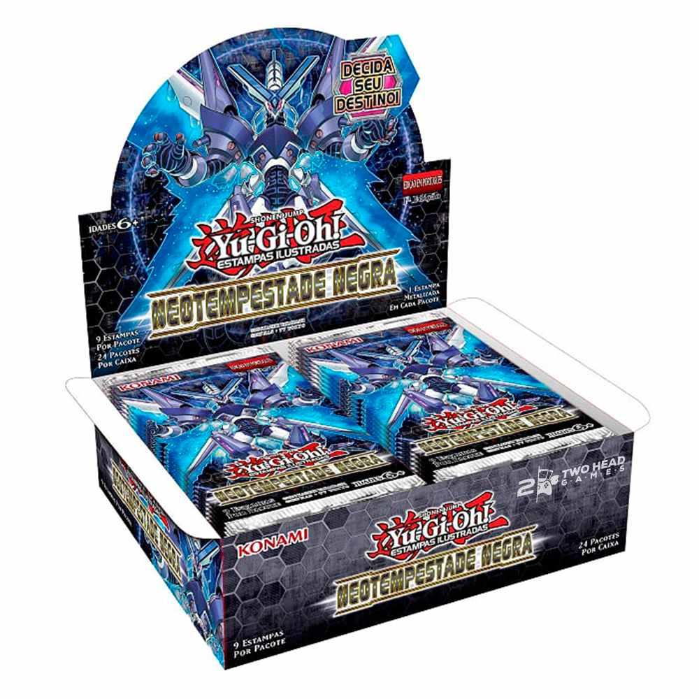 Yugioh Box Booster Neotempestade Negra - Dark Neostorm