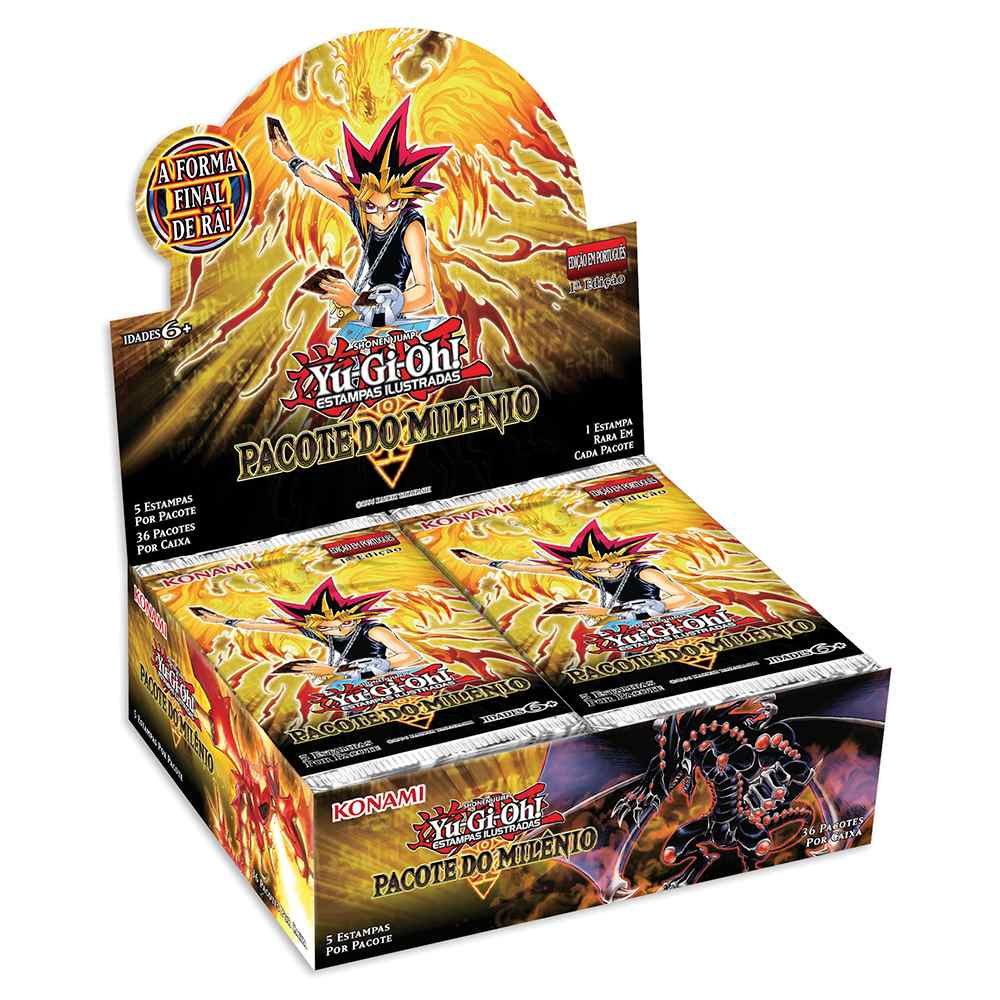 Yugioh Box Booster Pacote do Milenio - Millennium Pack