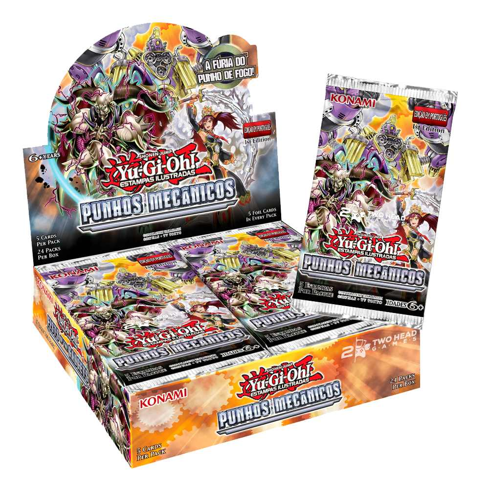 Yugioh Box Booster Punhos Mecânicos - Fists of the Gadgets