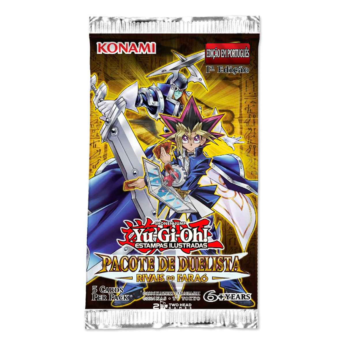 Yugioh Box Booster Rivais do Faraó