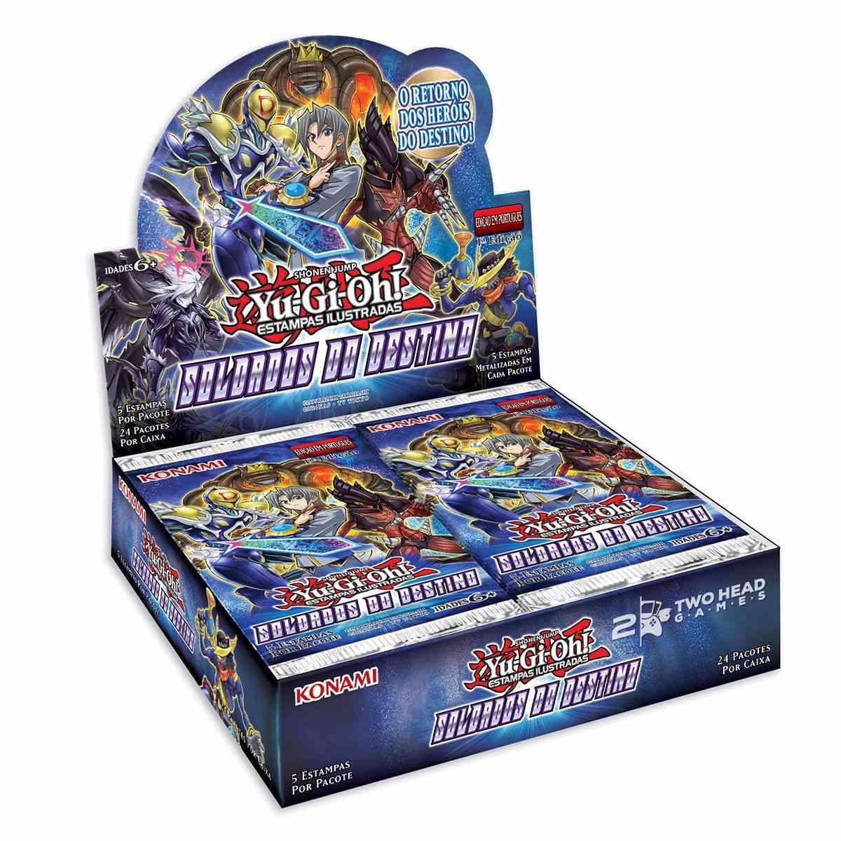 Yugioh Box Booster Soldados do Destino