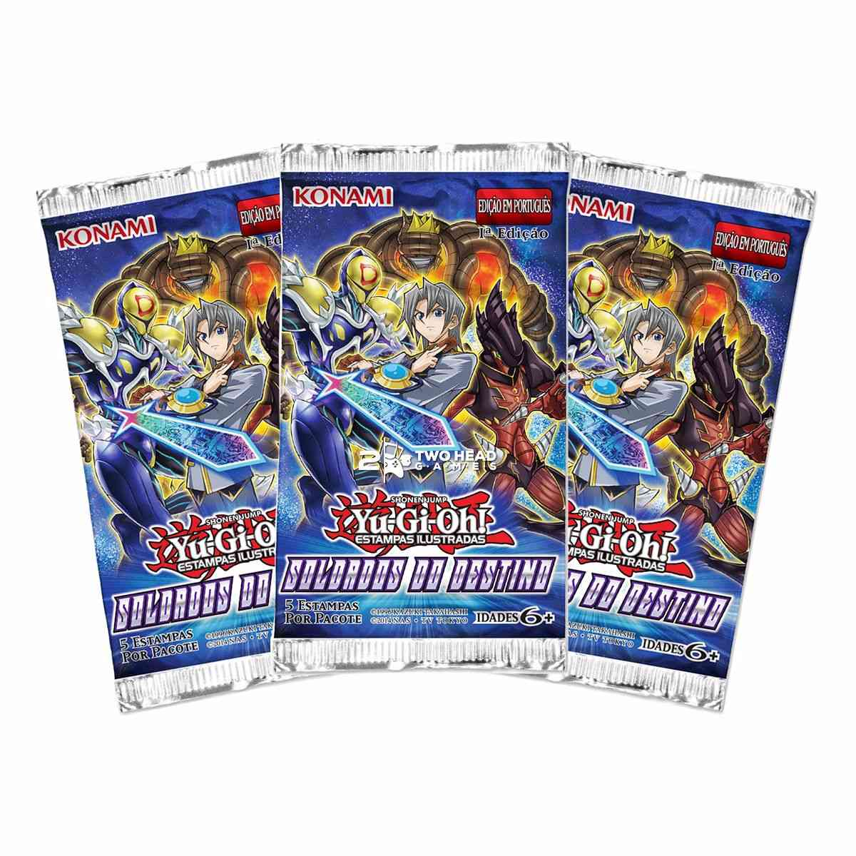 Yugioh Box Booster Soldados do Destino