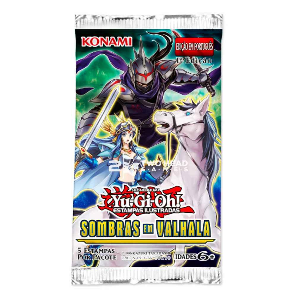 Yugioh Box Booster Sombras em Valhala Shadows Over Valhalla