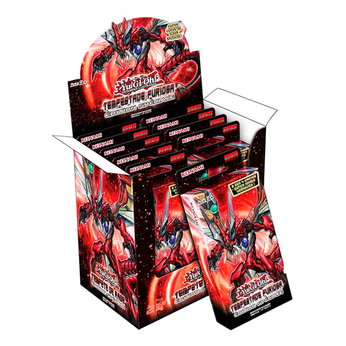 Yugioh Box Booster Tempestade Furiosa Edição Especial