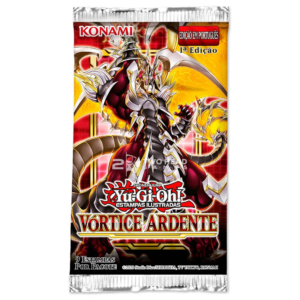 Yugioh Box Booster Vórtice Ardente - Blazing Vortex