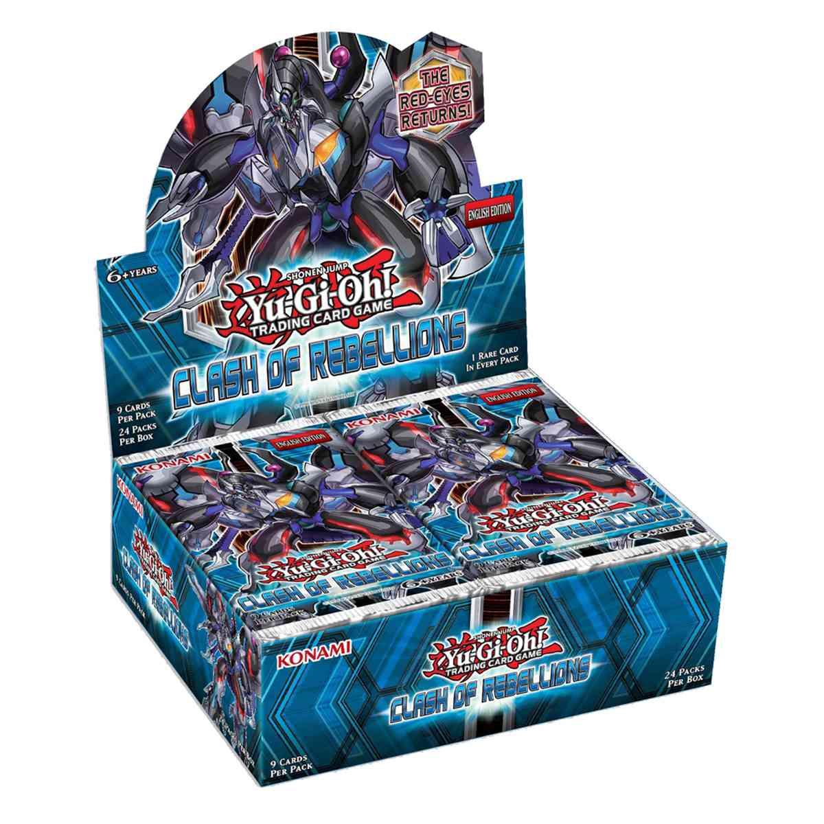 Yugioh Box Conflito de Rebeliões