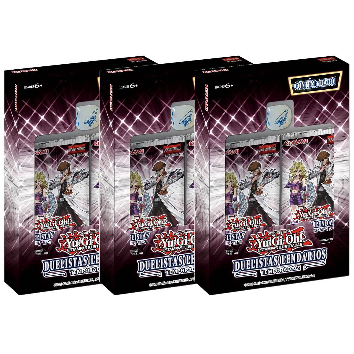 Yugioh Box Duelistas Lendários: Temporada 2 - Legendary Duelists