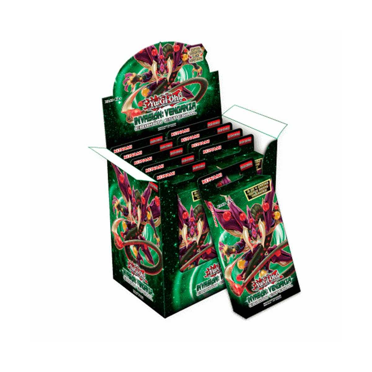 Yugioh Box Invasão Vingança Edição Especial Booster