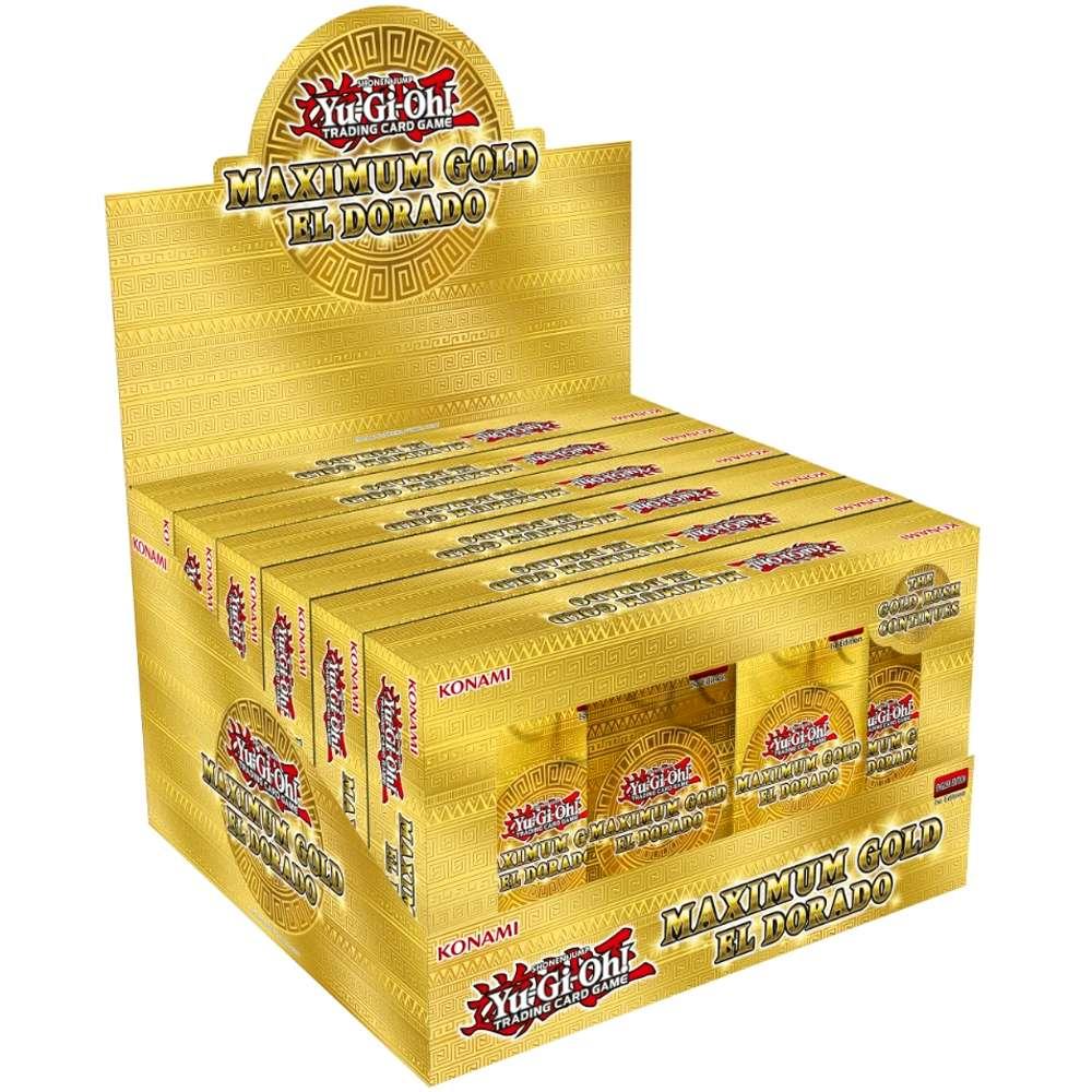 Yugioh Box Maximum Gold El Dorado Ouro Máximo Edição Especial