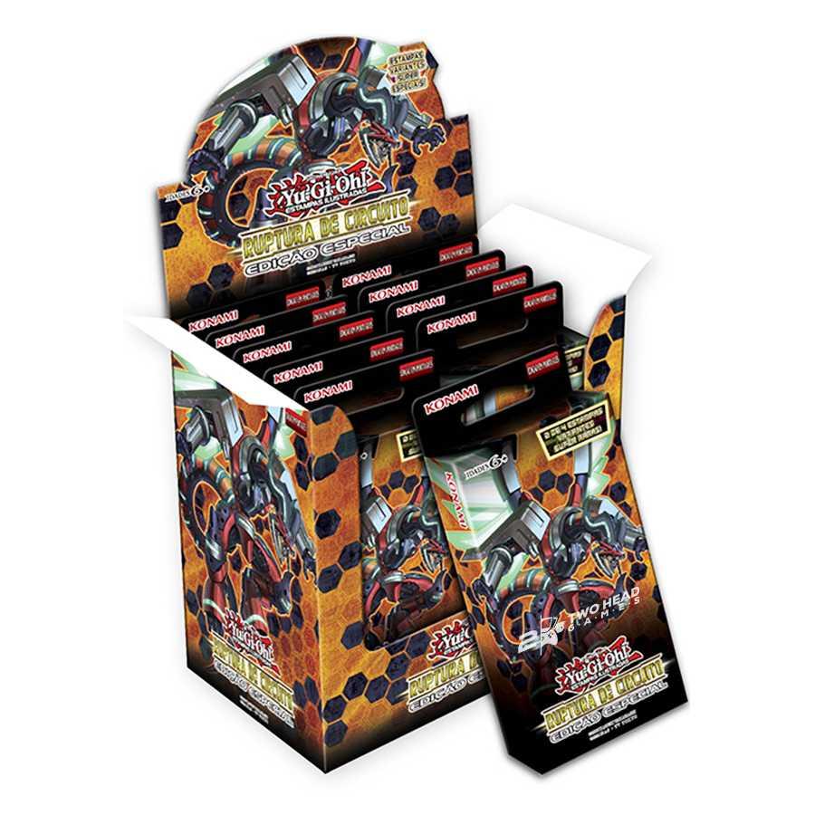 Yugioh Box Ruptura de Circuito Edição Especial