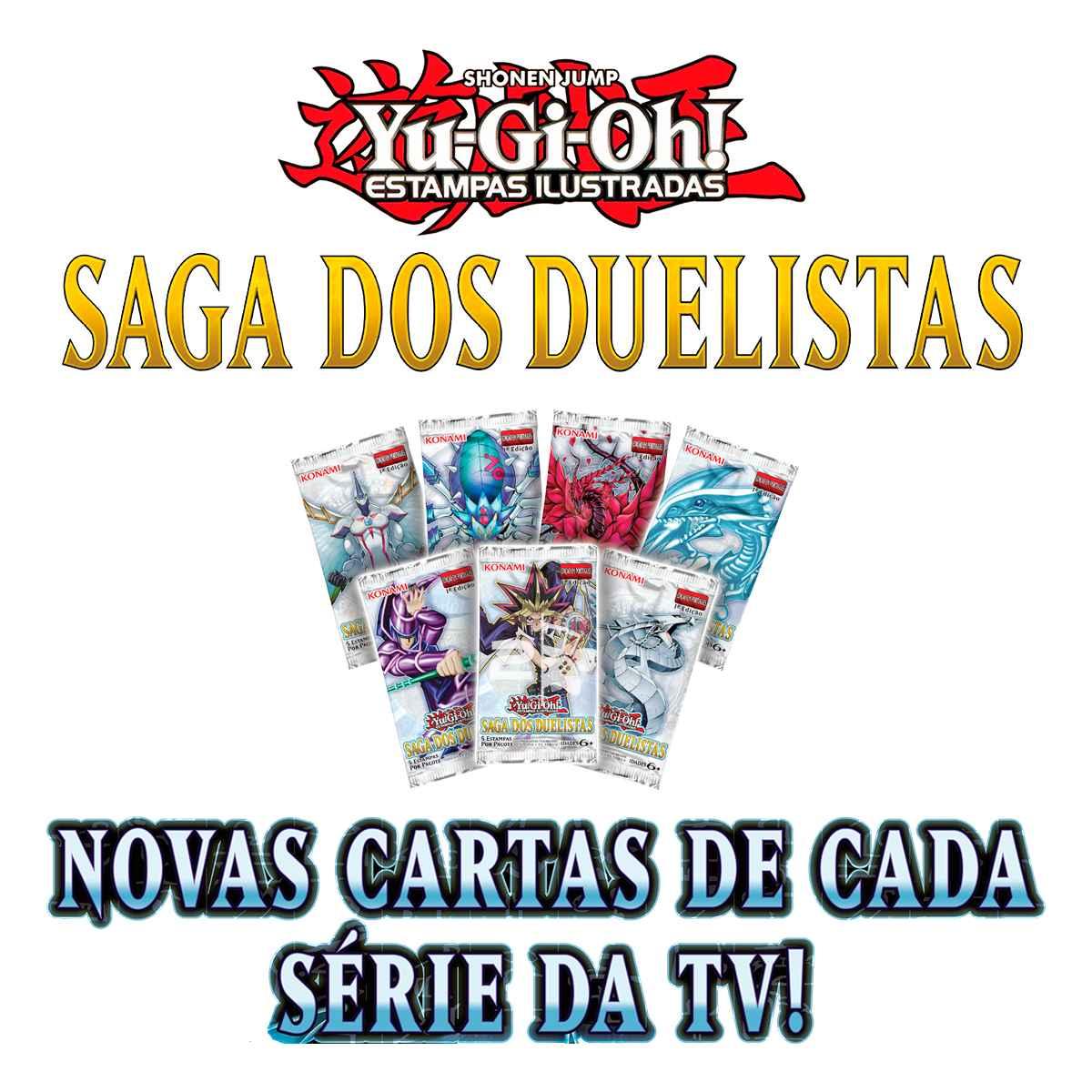 Yugioh Box Saga dos Duelistas Booster Edição Especial