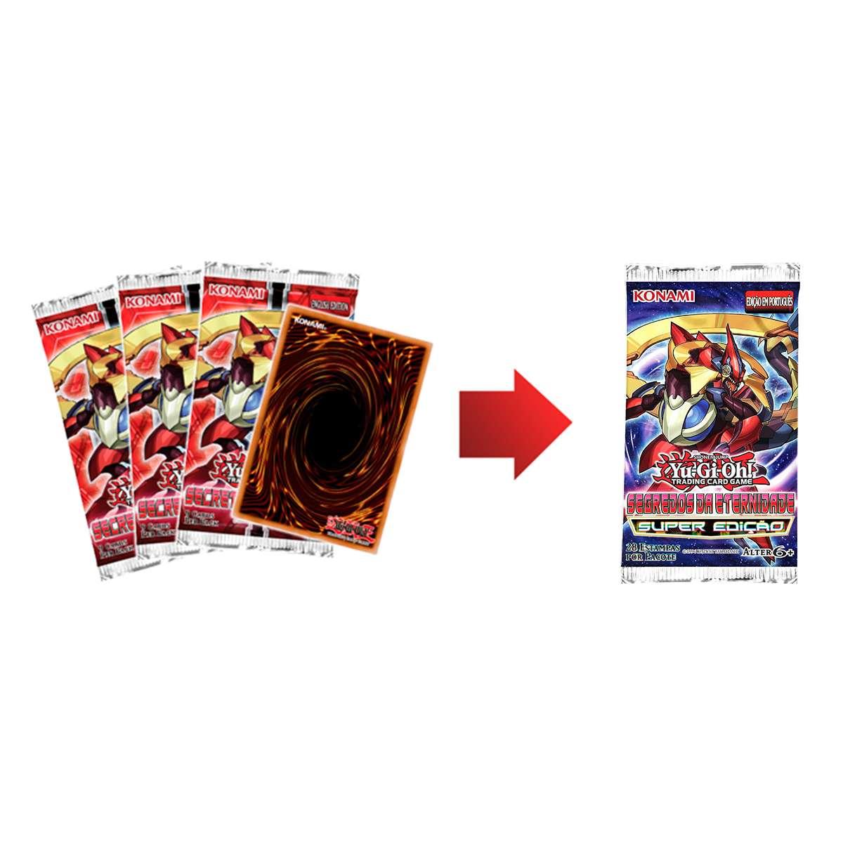 Yugioh Box Segredos da Eternidade Super Edição