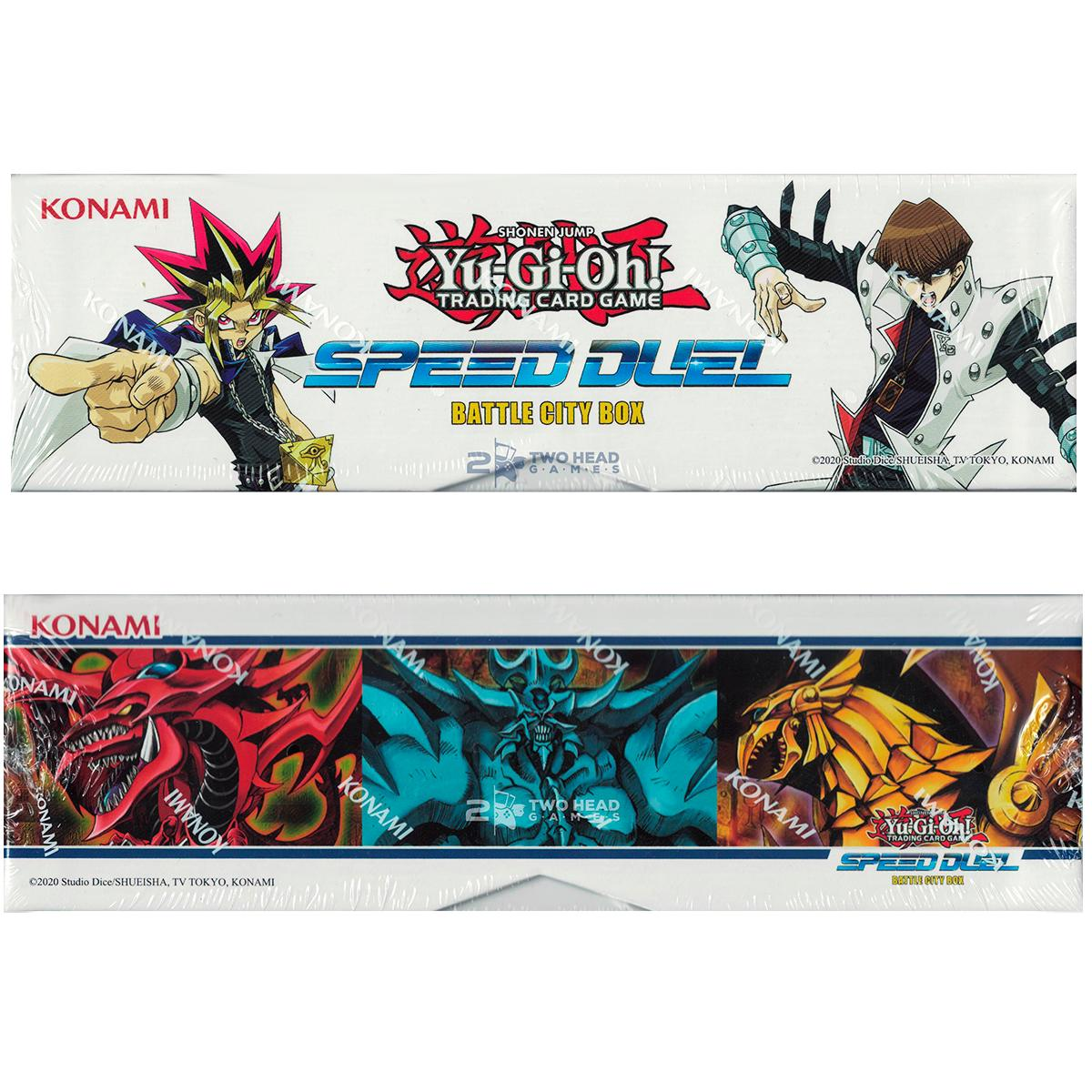 Yugioh Box Speed Duel Battle City Ingles