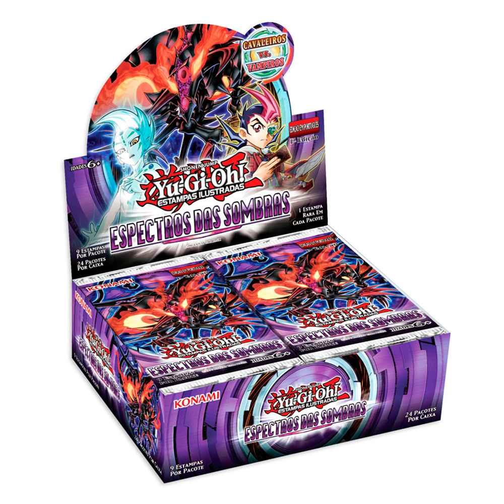 Yugioh Caixa de Booster Espectro das Sombras Shadow Specters