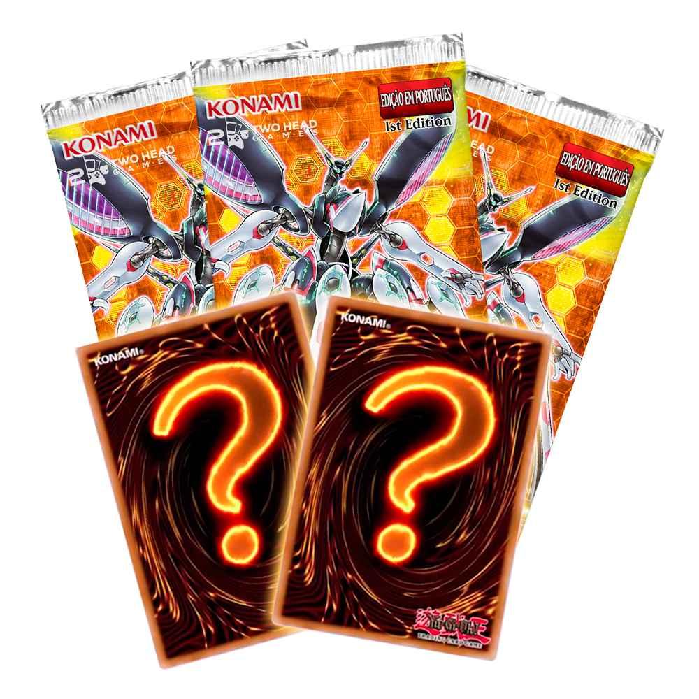 Yugioh Chamas da Destruição Box Edição Especial