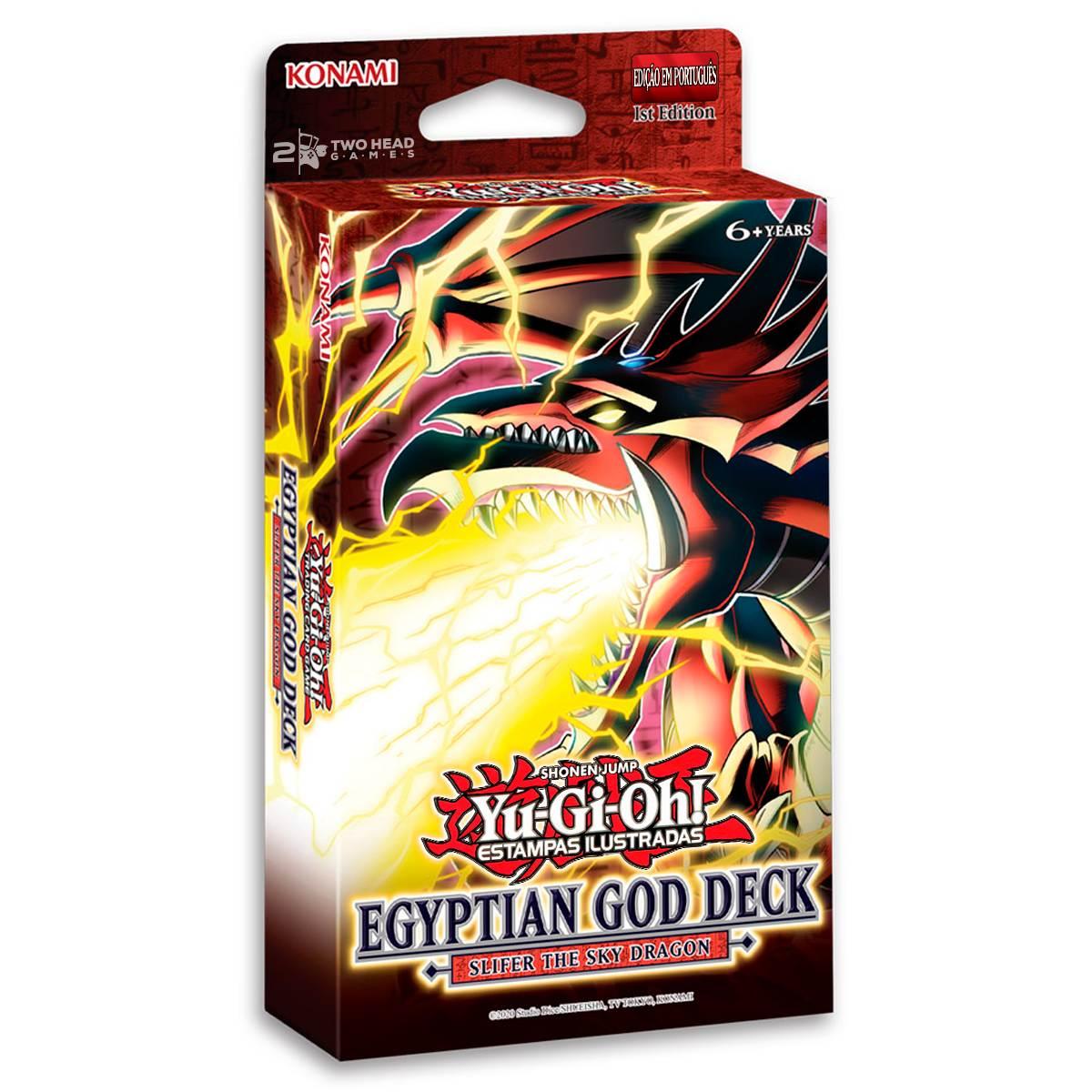 Yugioh Deck De Deuses Slifer O Dragão Celeste - God Egyptian