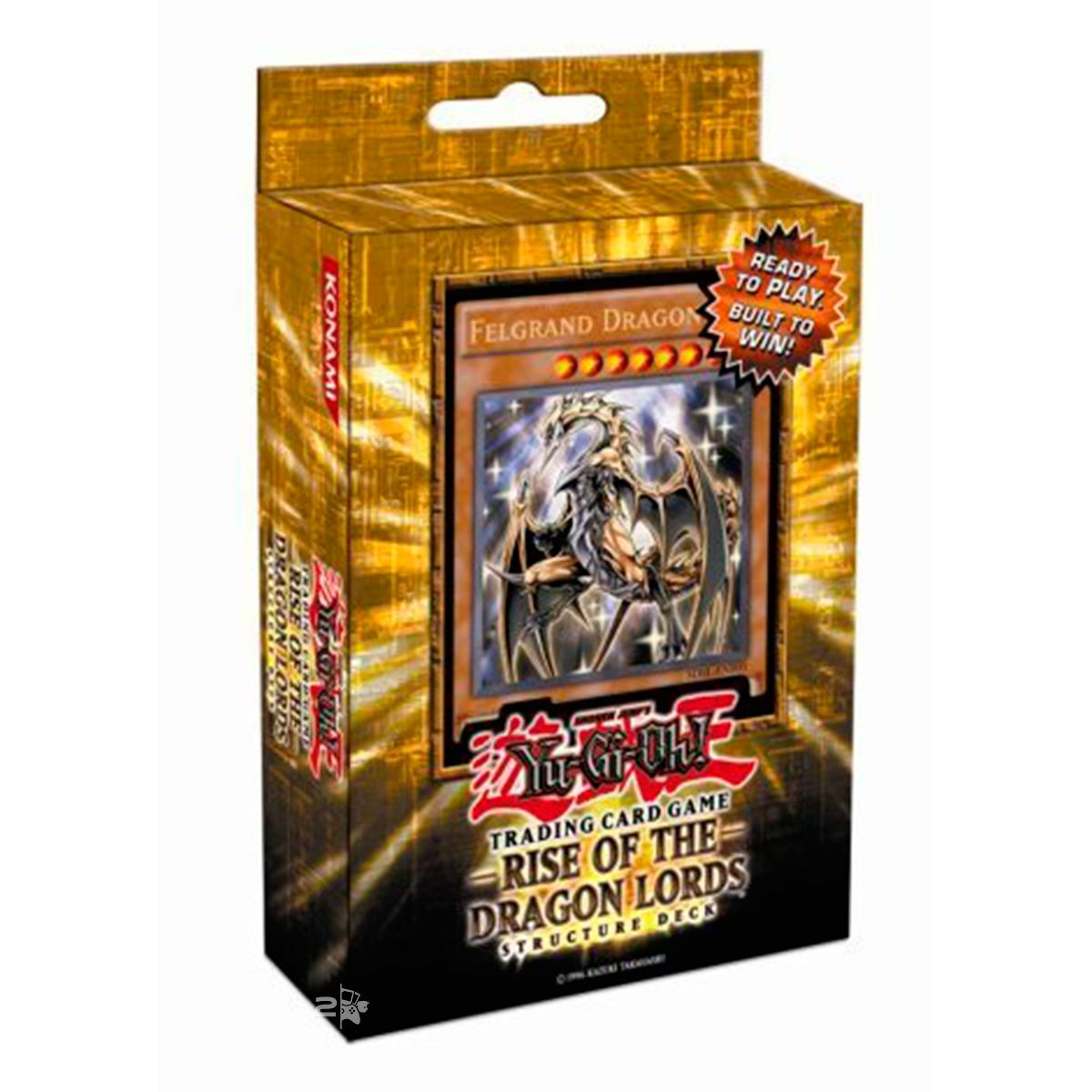 Yugioh Structure Decks Rise Of The Dragon Lords
