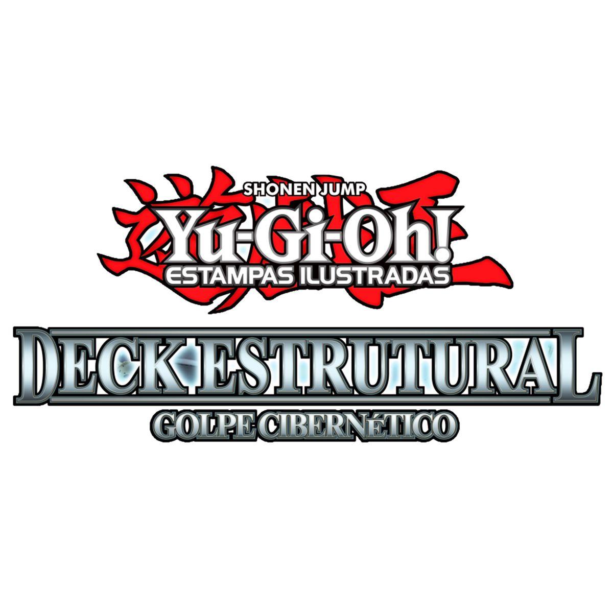 Yugioh Deck Estrutural Golpe Cibernético - Cyber Strike