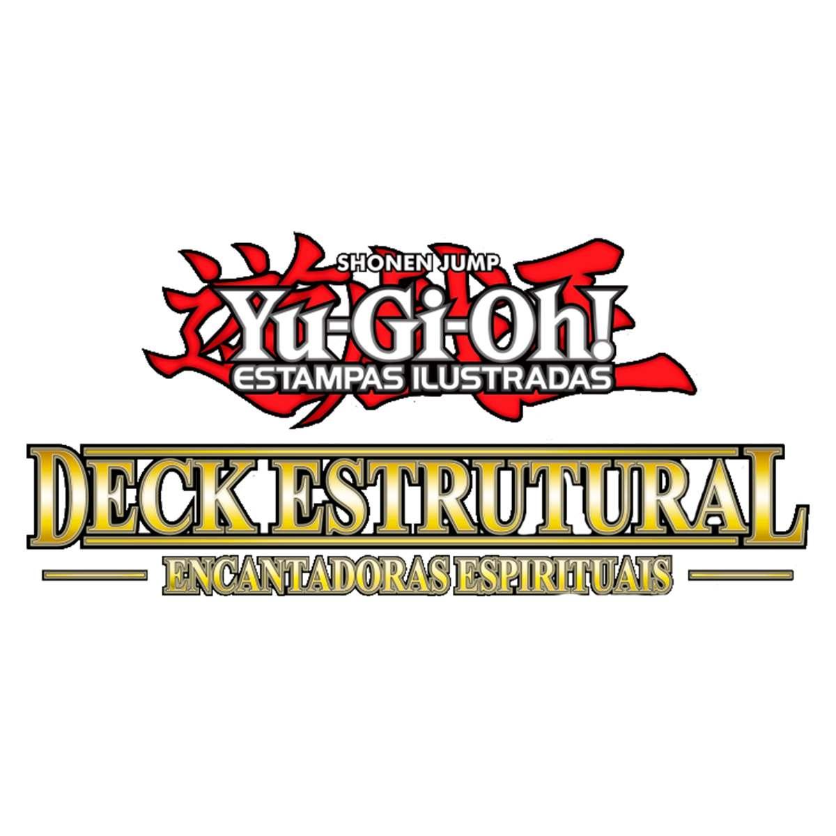 Yugioh Deck Estrutural Encantadoras Espirituais - Spirit Charmers