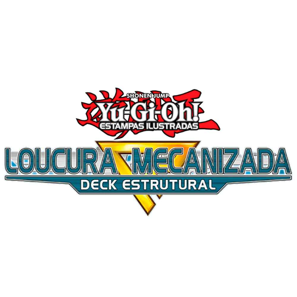 Yugioh Deck Estrutural Loucura Mecanizada - Mechanized Madness