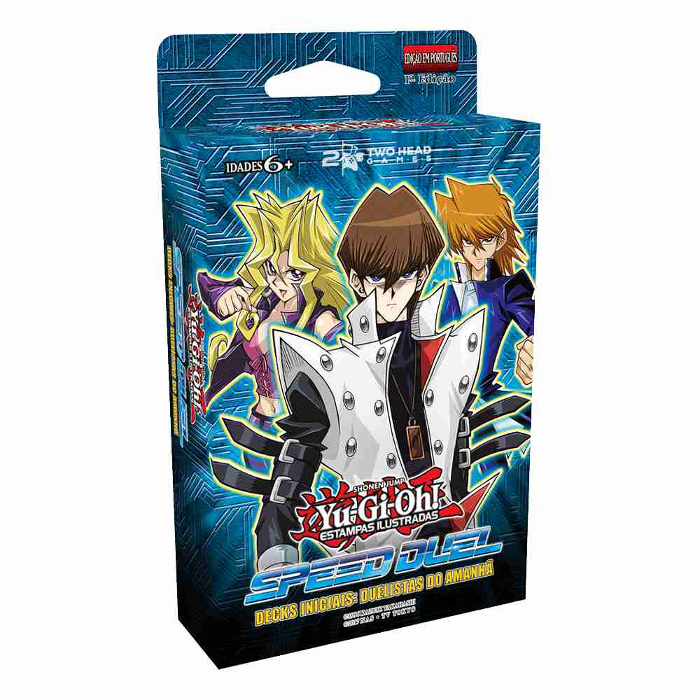 Yugioh Deck Inicial Speed Duel Duelistas do Amanhã